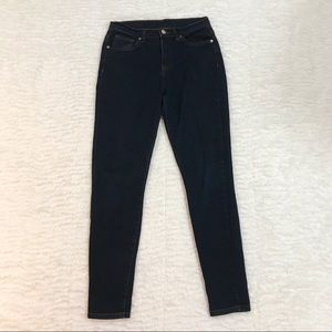 Denim - Dark Wash High Waisted Jeans